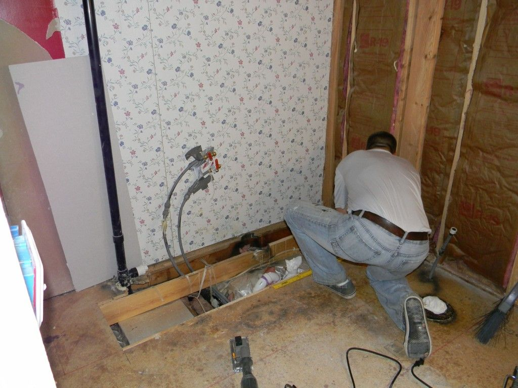 Photo Gallery In Website mobile home bathroom remodeling Bathroom Tear Out Part My Mobile Home Makeover
