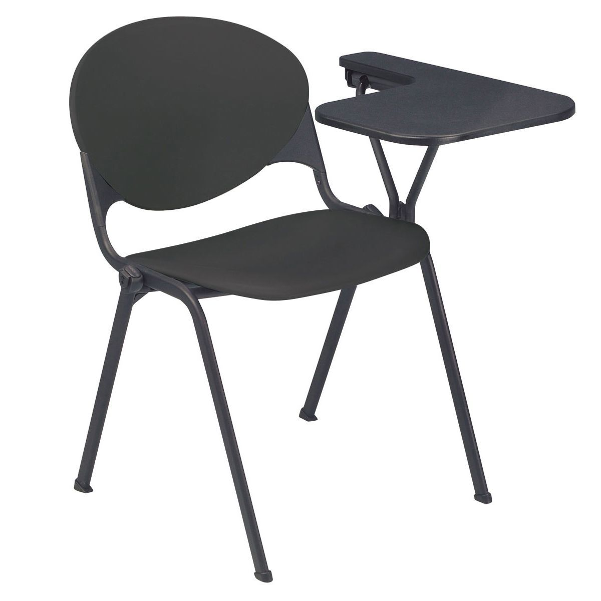 stacking school chair with left writing tablet furniture