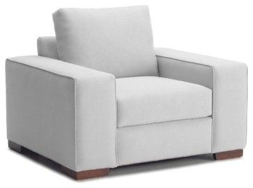 Melrose Place Wide Arm Chair Stone 45x39x27 Modern Armchairs And Accent Chairs By Apt2b Armchairs And Accent Chairs Modern Armchair Armchair