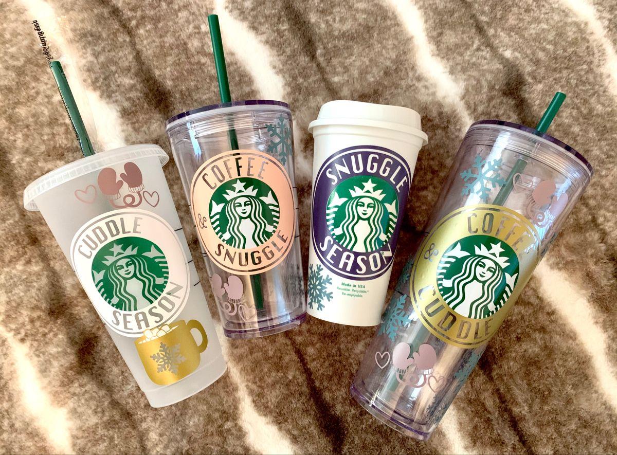 Cuddle Snuggle Round Logo Bundle Starbucks Coffee Svg And Png Etsy In 2021 Starbucks Starbucks Diy Custom Starbucks Cup