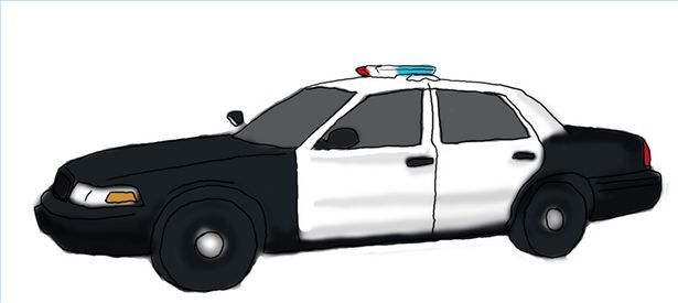 Drawing Of Side View Cop Car How To Draw Police Vehicles Thumbnail
