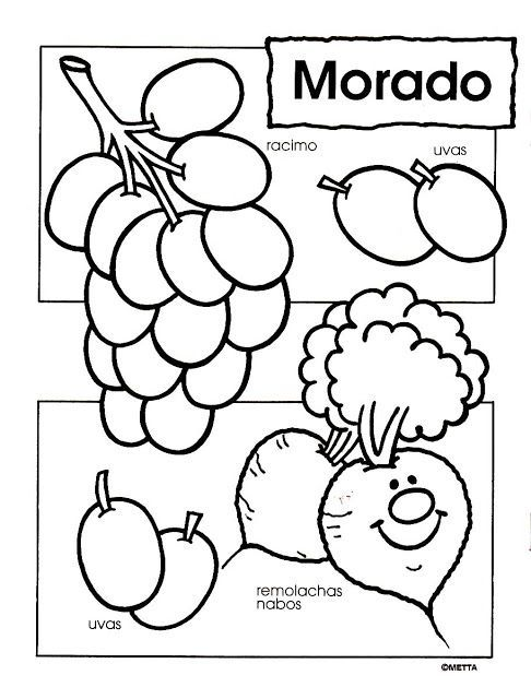 COLORES 011.jpg … | Fichas 3 | Pinterest | Kind, Vorschule und Ausmalen