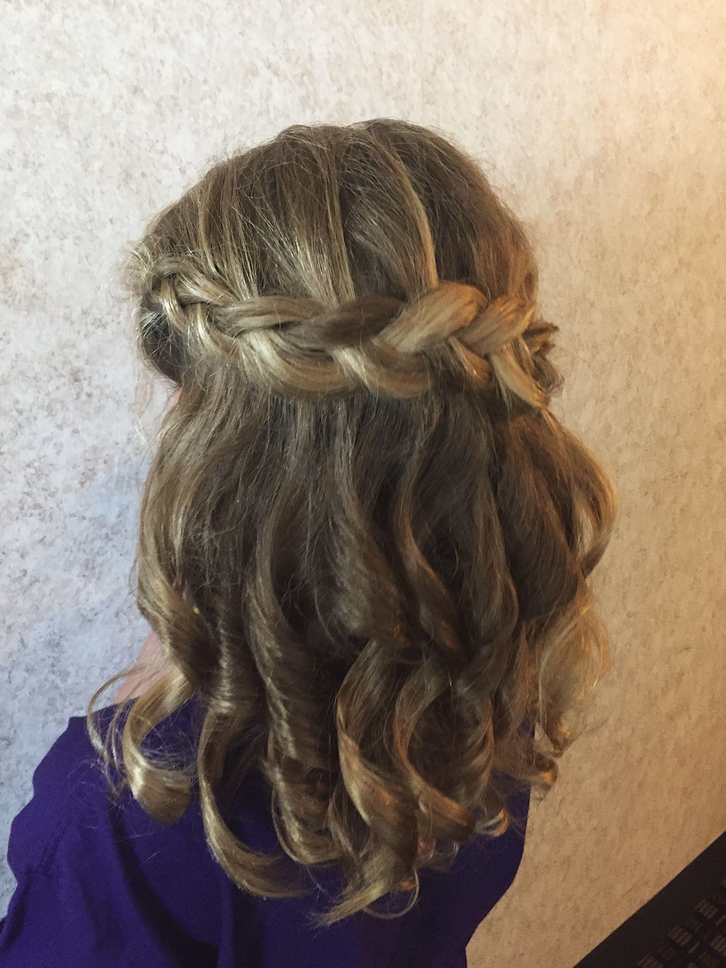 wedding hair for kids | Kids hairstyles, Long hair styles ...