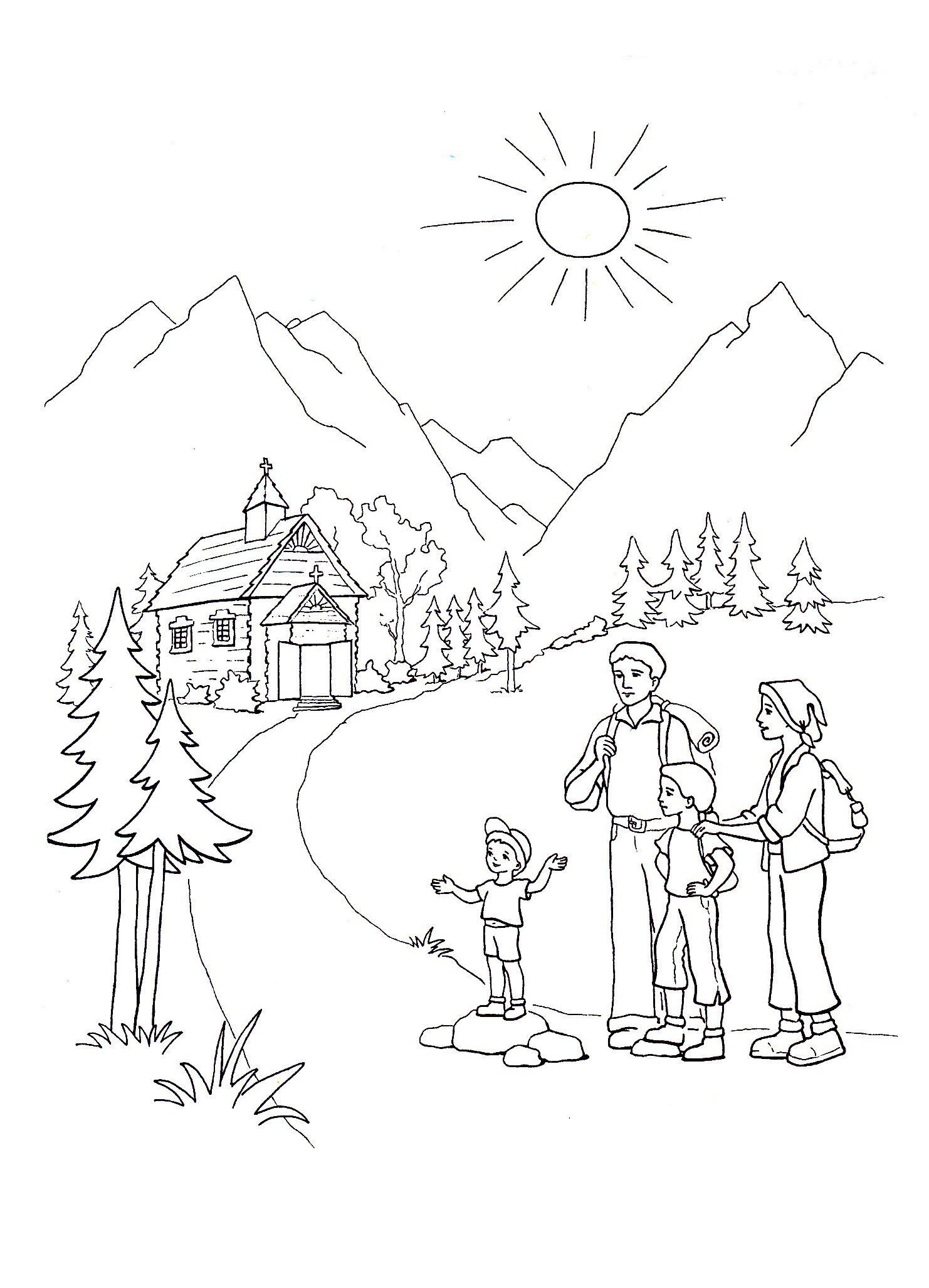 Pin By Zamajka On Rozmalovki Sunday School Coloring Pages Coloring Pages Coloring Books