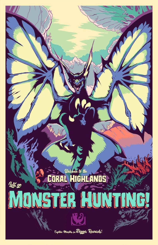 Coral highlands lets go monster hunting video game