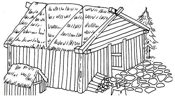 Recursos Y Actividades Para Educacion Infantil Dibujos Para Colorear Chozas Y Cabanas Dibujos Para Colorear Dibujos Colores