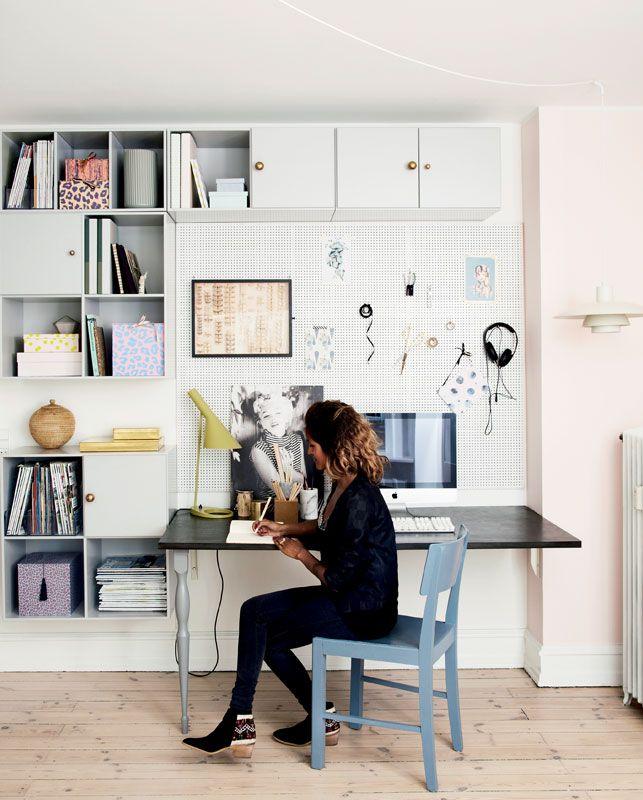 Har du ikke et ekstra værelse til at indrette et kontor i? Fortvivl ...