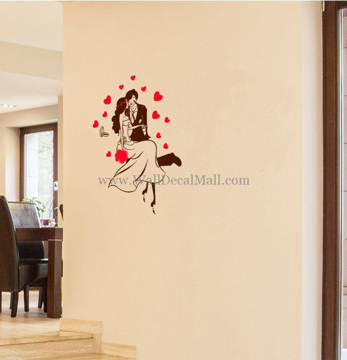Love For Couples Wall Decals U2013 WallDecalMall.com