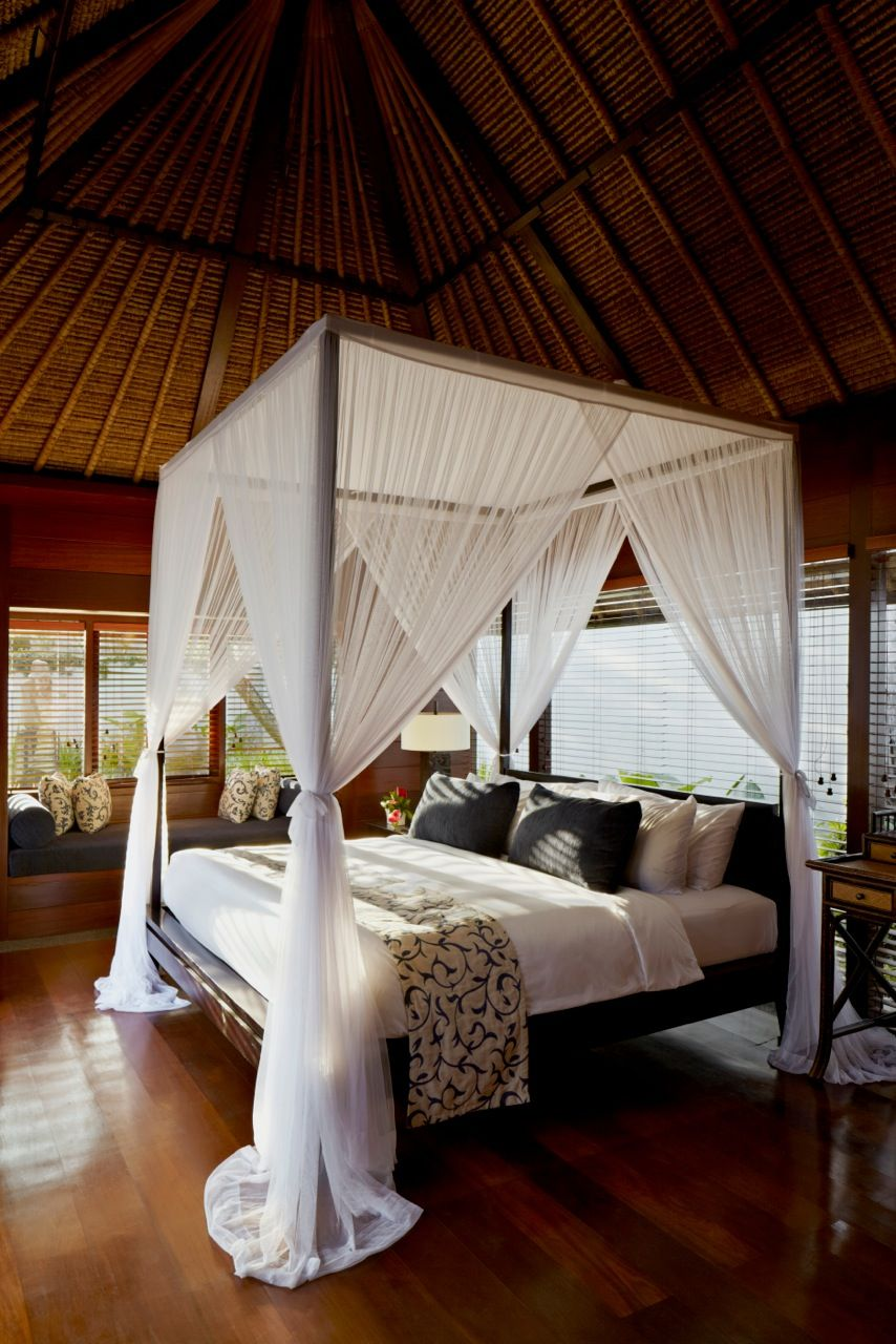 Kayumanis Jimbaran Private Estate In Bali Perfect For Romance Bali Bedroom Canopy Bedroom White Canopy