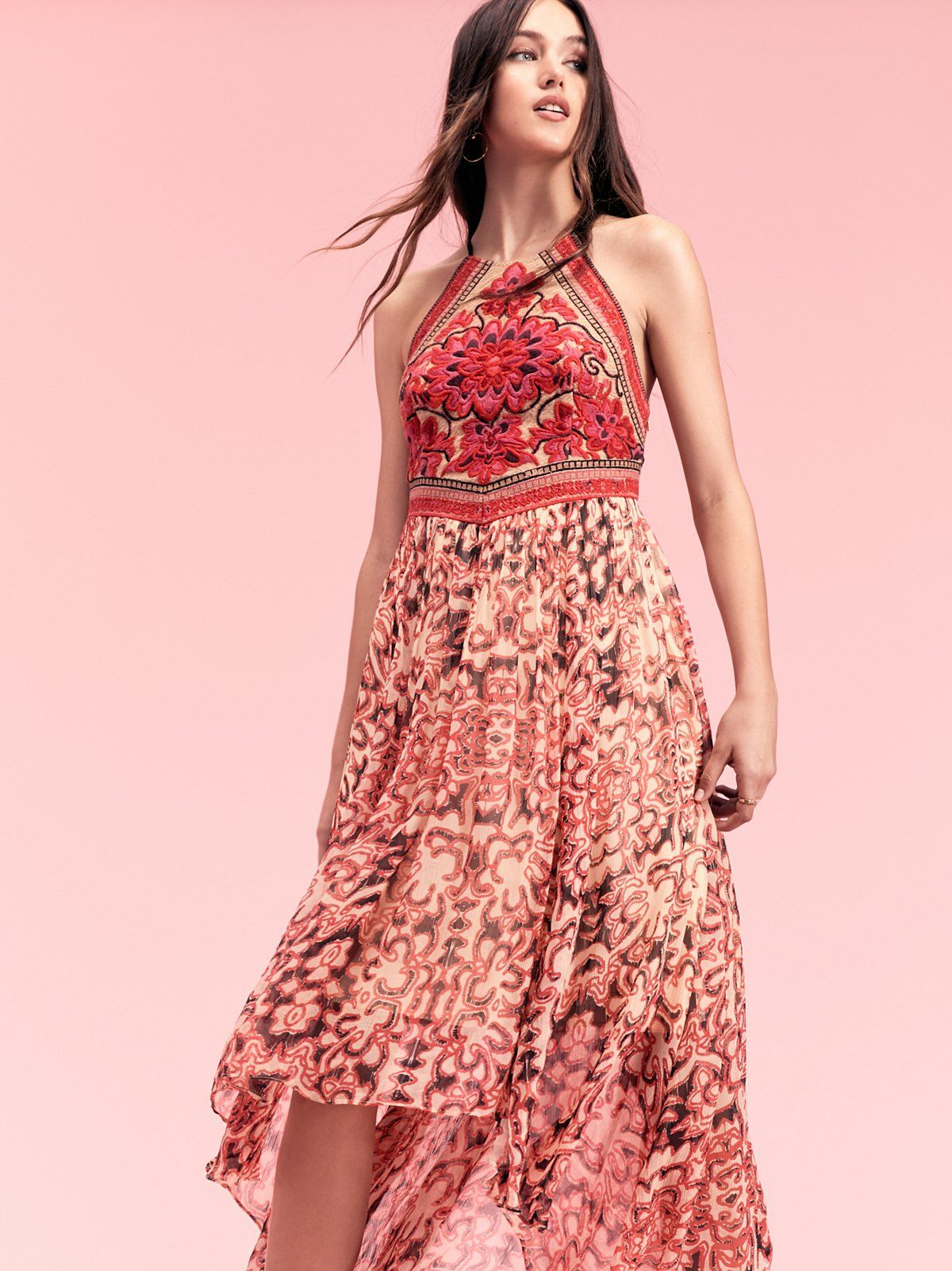 Hot pink combo Chiang Mai Maxi at Free People Clothing Boutique ...