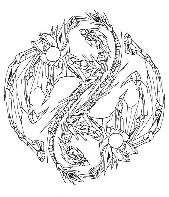 Yin Yang Dragons Dragon Tattoo Pictures Yin Yang Dragon Tattoo