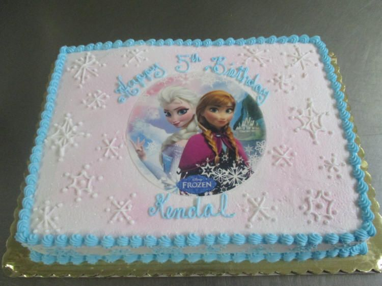 Frozen Sheet Cake With Images Frozen Birthday Cake Frozen