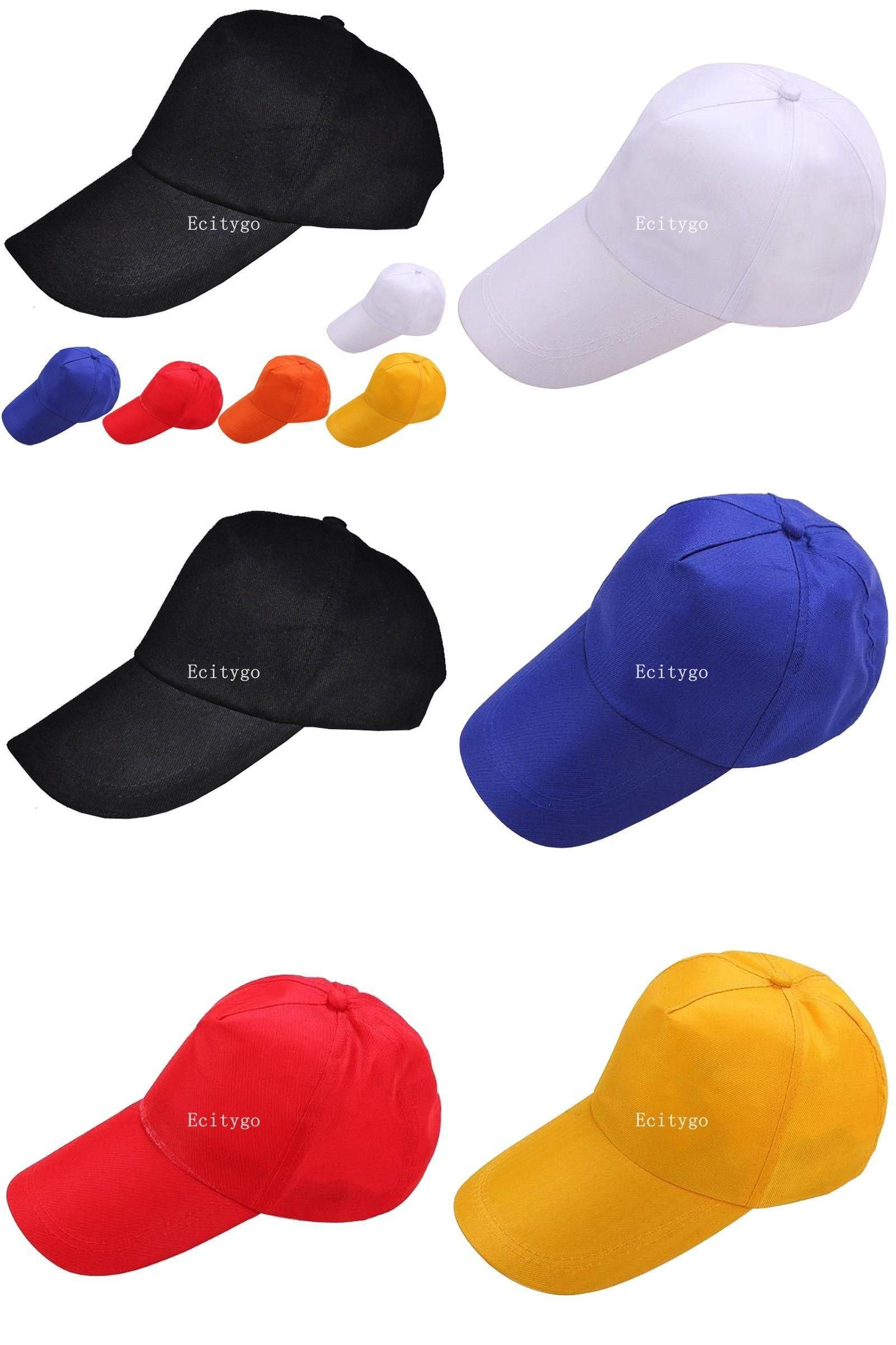 4fc0d4267e64e  Visit to Buy  Fashion New Mens Womens Basic Plain Blank Adjustable Baseball  Snapback Hat