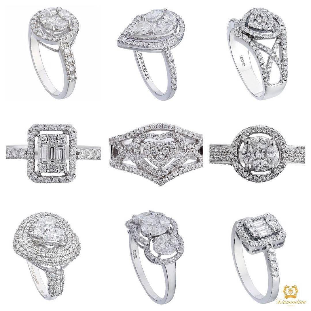Diamantina Fine Jewels On Instagram Pressure Set Diamond Rings In All Shapes Diamond Rings Bling Heart Pear R Fine Jewels Heart Shaped Diamond Diamond