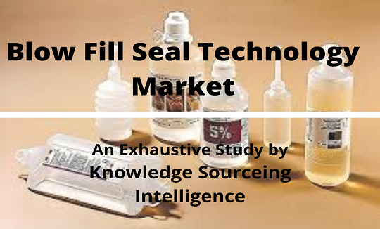 The Blow Fill Seal Technology Market Is Expected To Grow At A Compound Annual Growth Rate Of 5 23 Over The Period 2019 To 20 In 2020 Technology Aseptic Packaging Blow