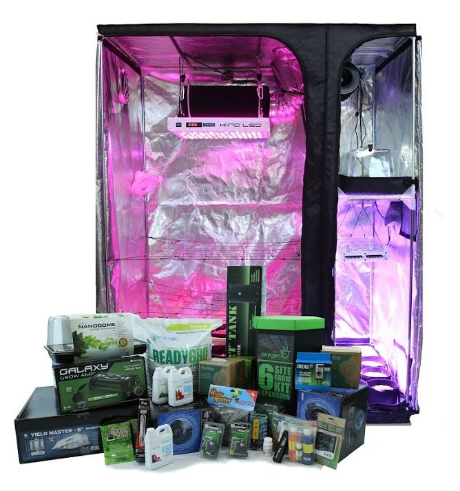 4u0027 x 5u0027 Perpetual Harvest Multi-Chamber Grow Tent Kit  sc 1 st  Pinterest : grow tents ireland - memphite.com
