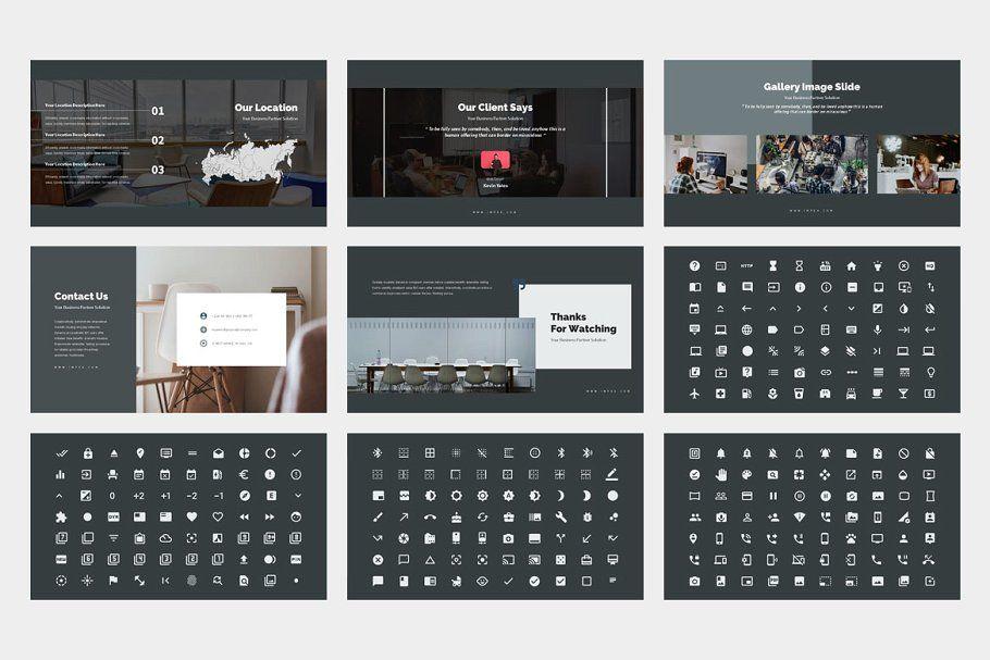 Impea Coworking Space Google Slides in 2020 Presentation
