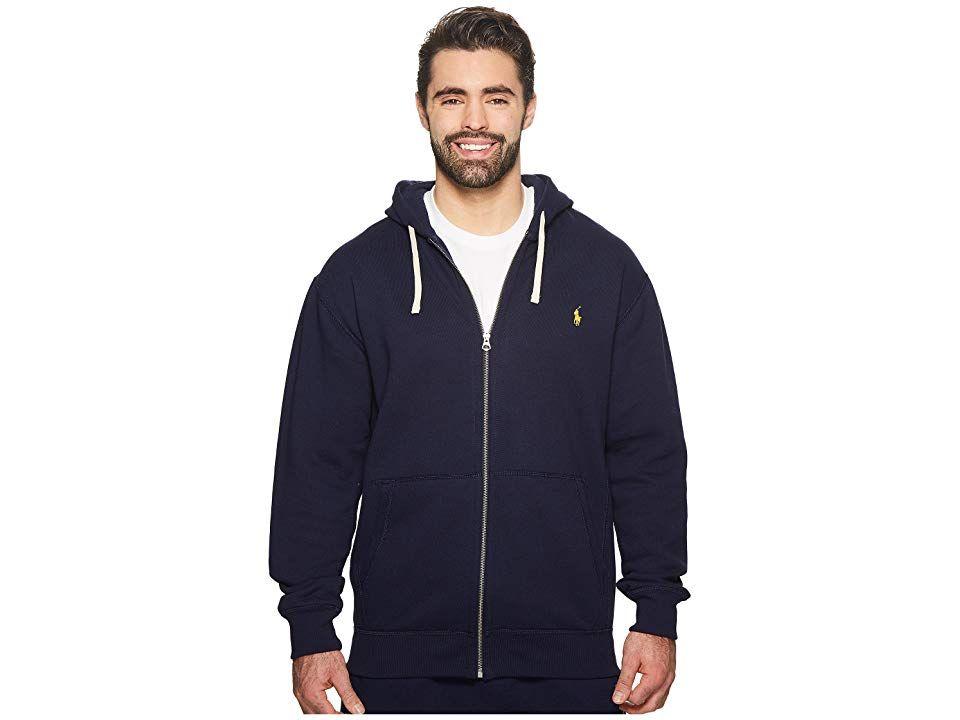 7cb39767f87d Polo Ralph Lauren Big   Tall Big   Tall Classic Fleece Full-Zip Hoodie