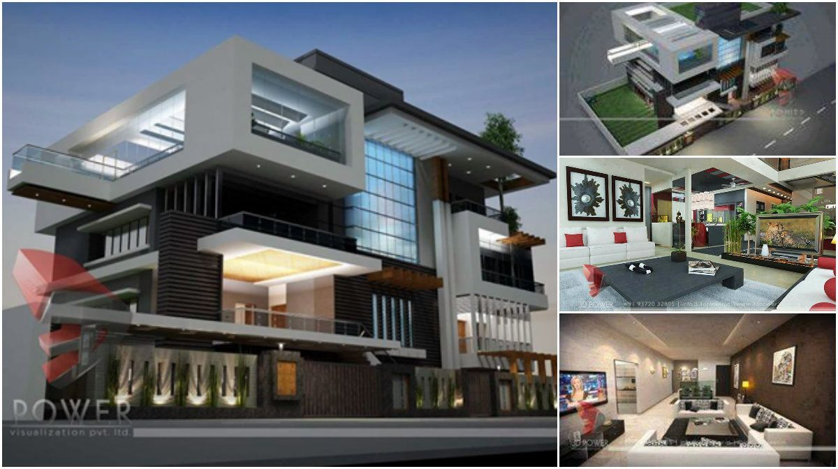 3d Contemporary Project For A Spectacular House Design Architecture Admirers House Design Architecture Architecture Design