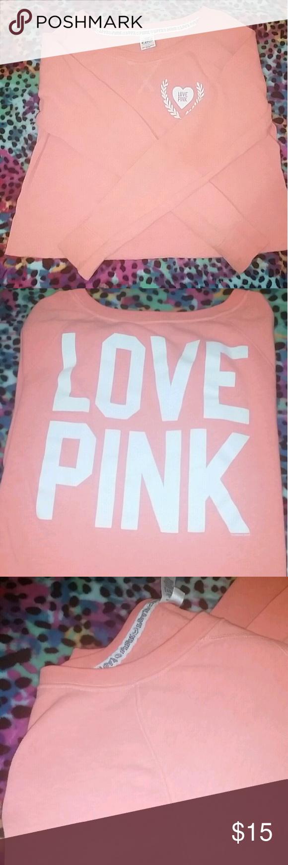 Top-design-bilder crop top sweater pink vs size l final price