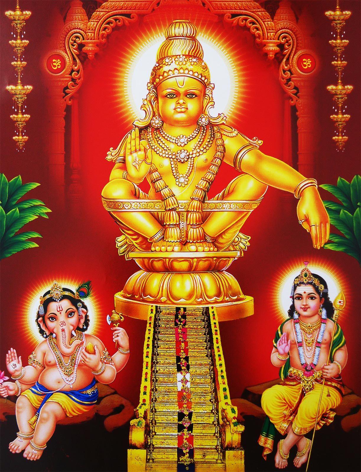Lord Ganesha Paintings Lord Murugan Wallpapers Lord Shiva Hd Images Hd 1080p ayyappa swamy hd images png