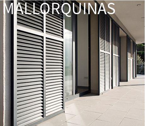 Mallorquinas persianas persax ventanales comedor - Puertas mallorquinas ...
