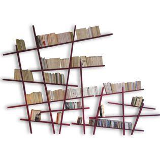 biblioth que design et pas ch re diy pinterest biblioth que originale deco bibliotheque. Black Bedroom Furniture Sets. Home Design Ideas