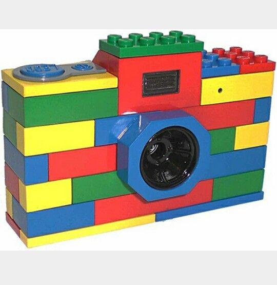 ognuno ha la sua macchina fotografica #fotografia #lego #bambini #passione