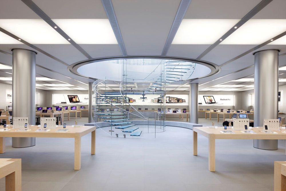 apple new office design. Apple Store By Bohlin Cywinski Jackson Architects, Shanghai Electronics New Office Design H