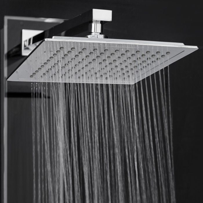 You Ll Love The Temperature Control Tower Shower Panel System At Wayfair Great Deals On All Home With Images Adjustable Shower Head Shower Panels Bathroom Shower Panels