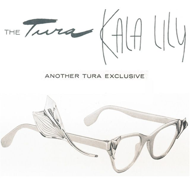 Vintage Antique Eyeglasses / Spectacles, 1950s/60s Tura Inc ...