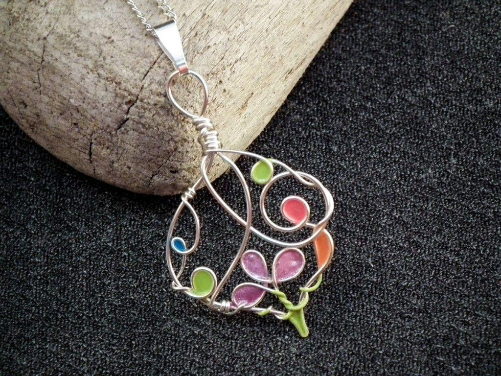 Wire Nail Polish Flowers & Pendants | Nail polish flowers, Bird and ...