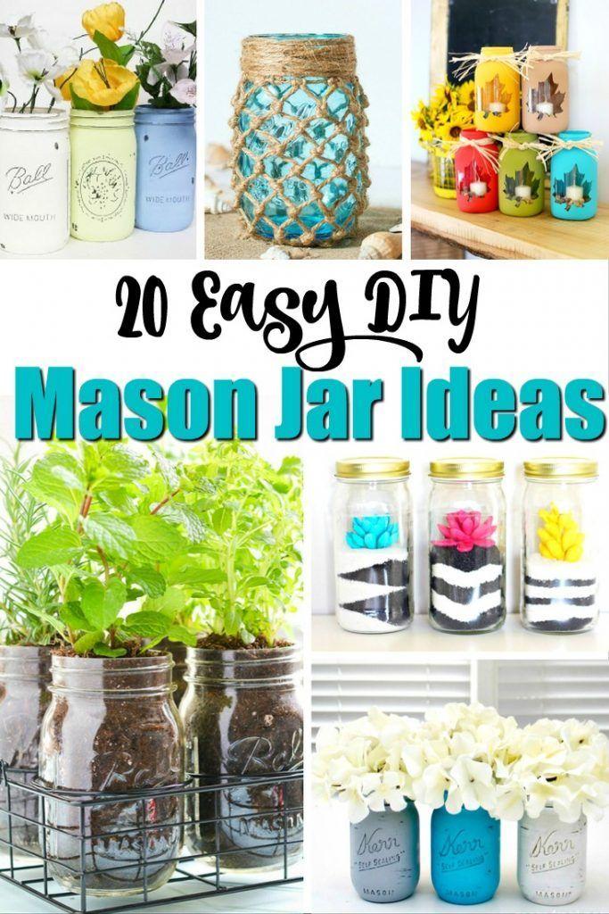 From Fall Mason Jar Firefly Lanterns And Ombre Mason Jars To Maple