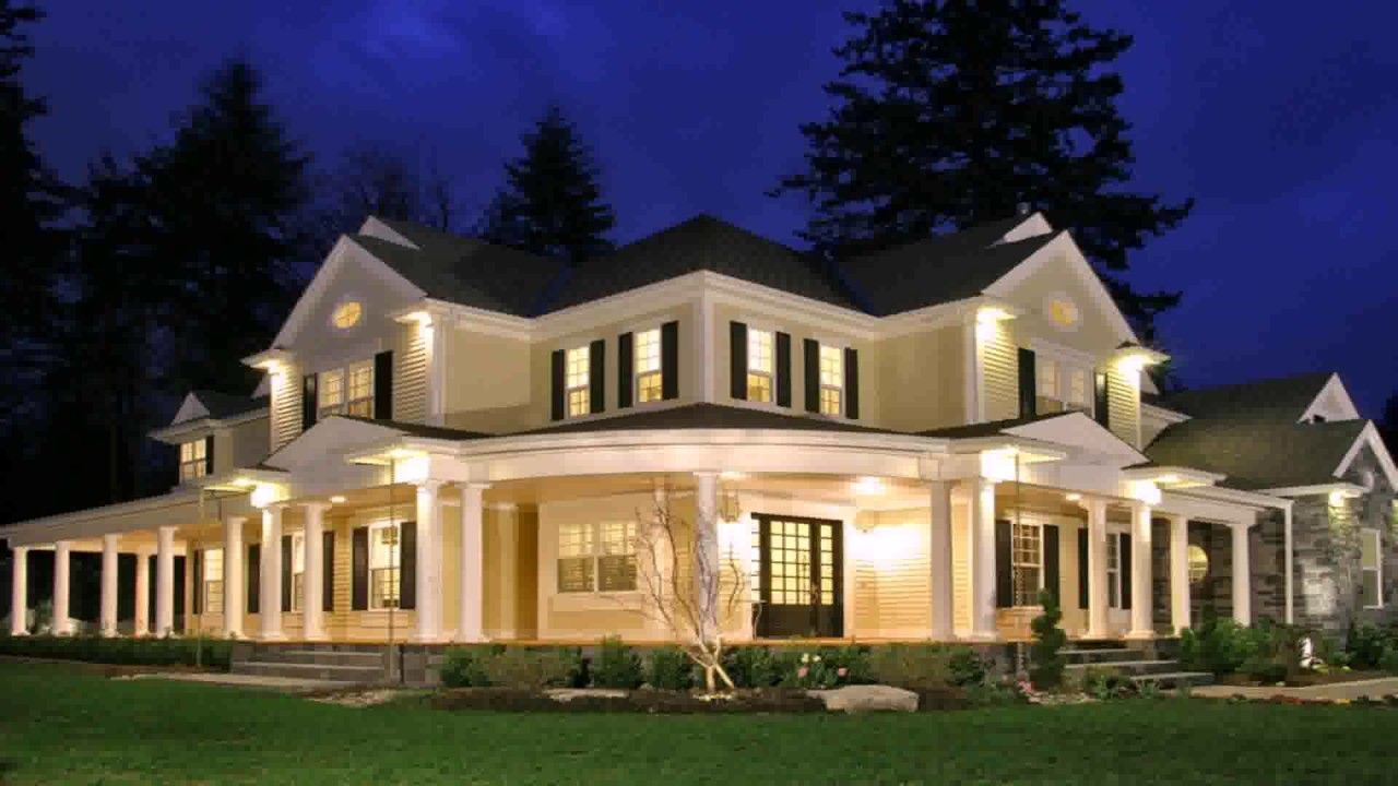 homes with wrap around porches near me
