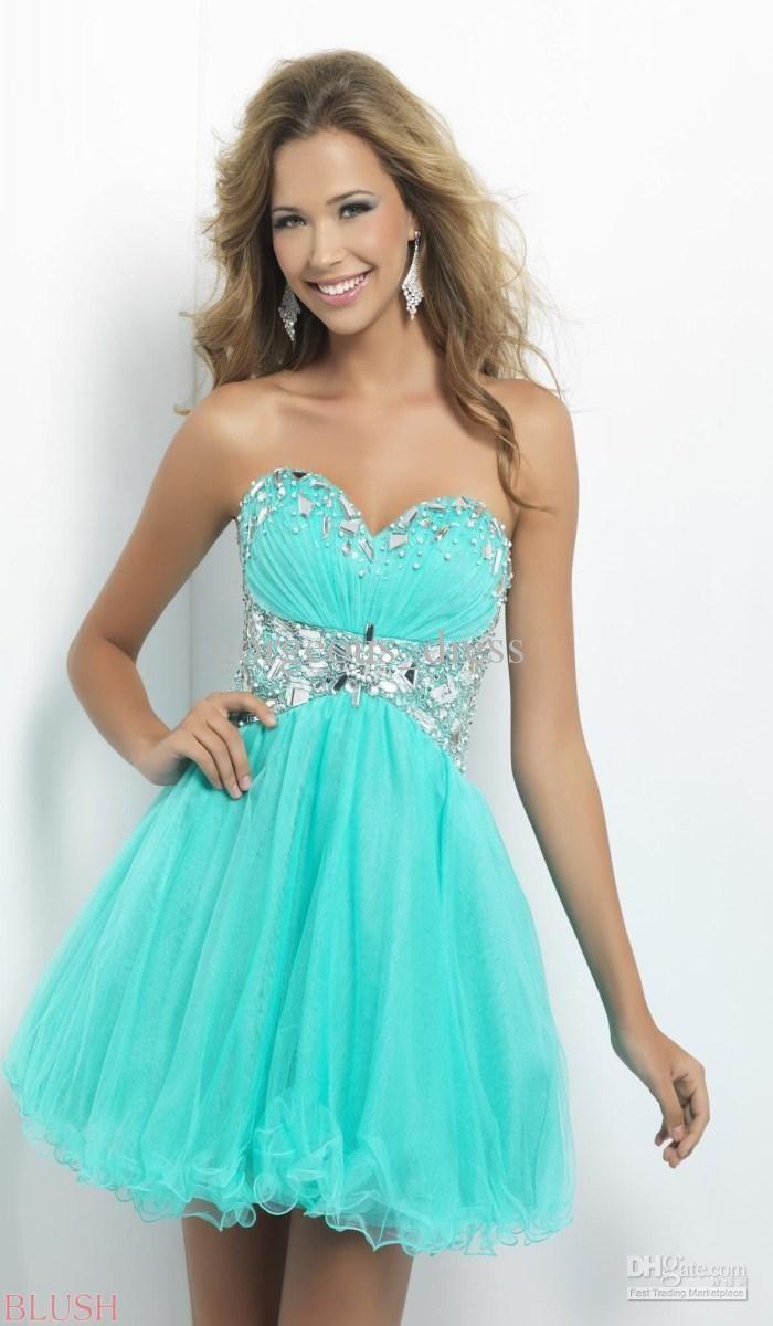 3d1cca5f5c3 Beautiful cute graduation dresses for girl sweetheart organza ...