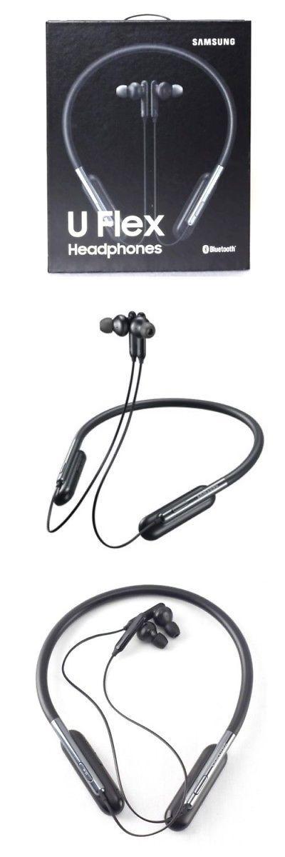 Headsets 80077 Brand New Samsung U Flex Black Wireless In Ear Flexible Headphones Buy It Now Only 24 95 On Headphones Headphones With Microphone Headsets