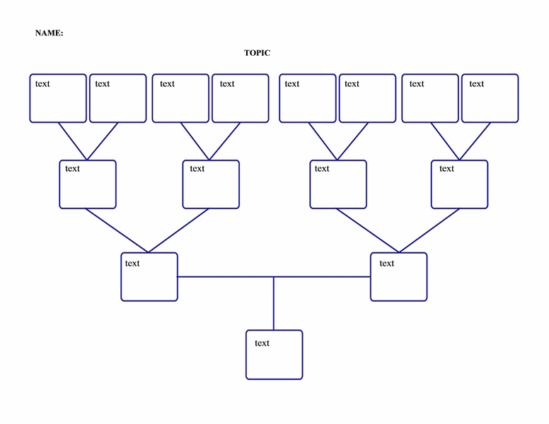 very simple free family tree template from microsoft office