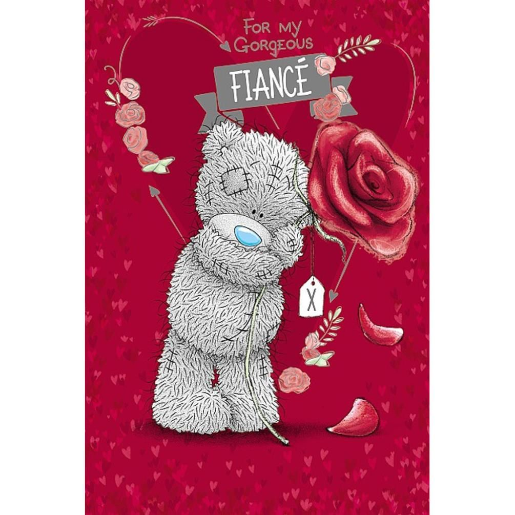 Happy Birthday Fiance Me to You Bear Card - Beertjes