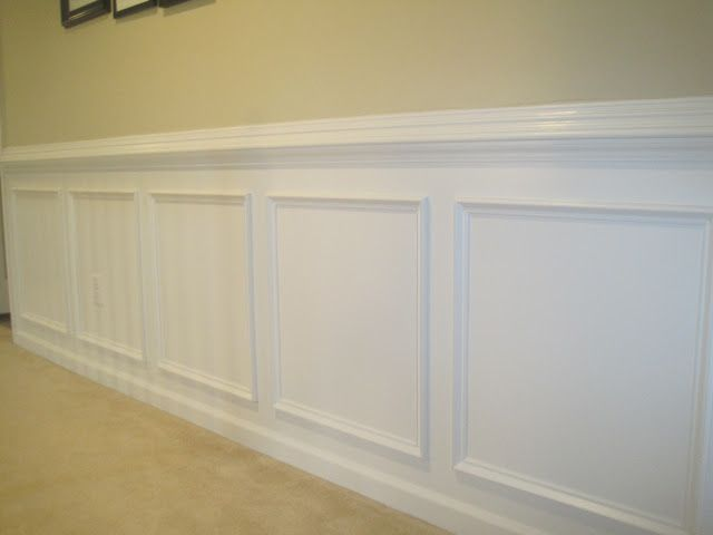 Designed To Dwell: Tips For Installing Chair Rail Wainscoting. Dining Room.