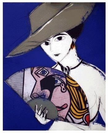 Pamela III Collage Lichtentein