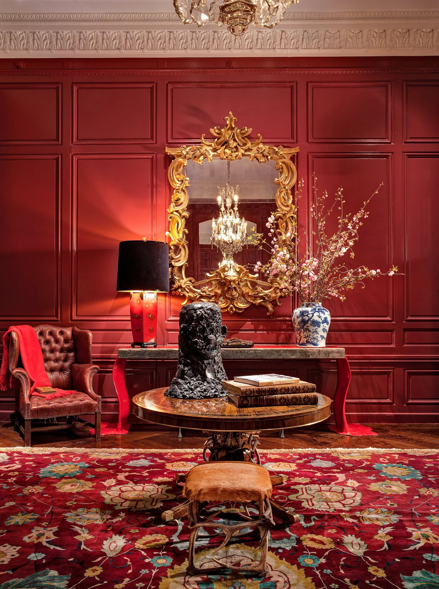 Rocking The Palazzo Published 2014 Red Decor Red Rooms Living Room Decor Red luxury room pictures