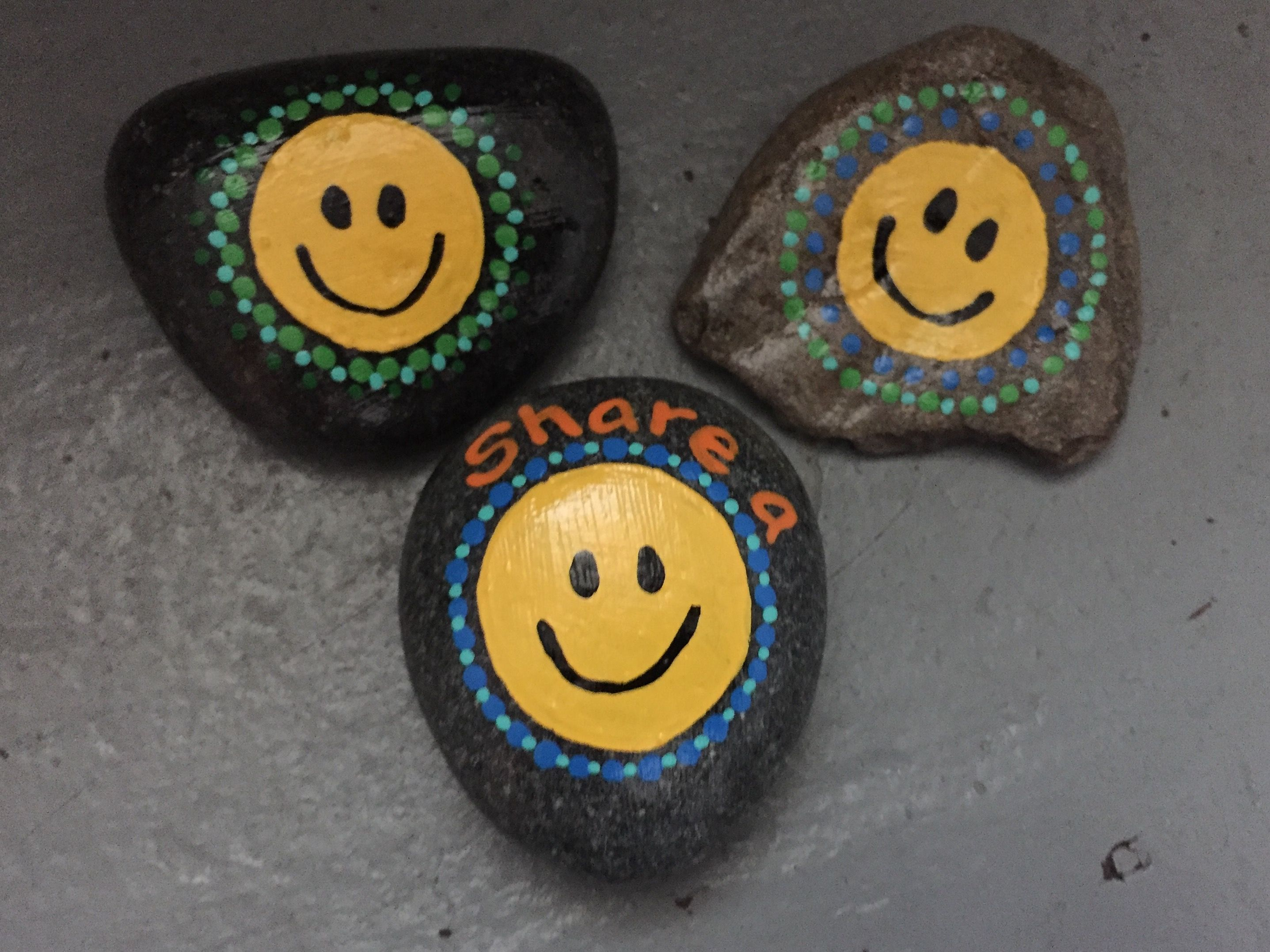 Hand Painted Rocks By Caroline The Kindness Rocks Project