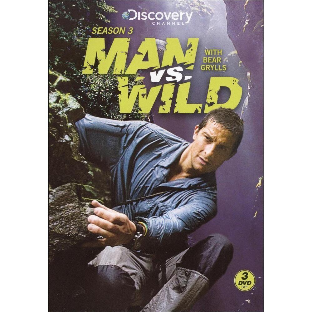 Man vs. Wild: Season 3 [3 Discs]