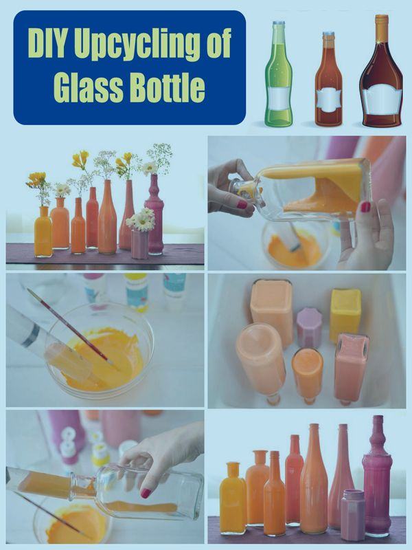 Easy Homestead: DIY Upcycling of Glass Bottle