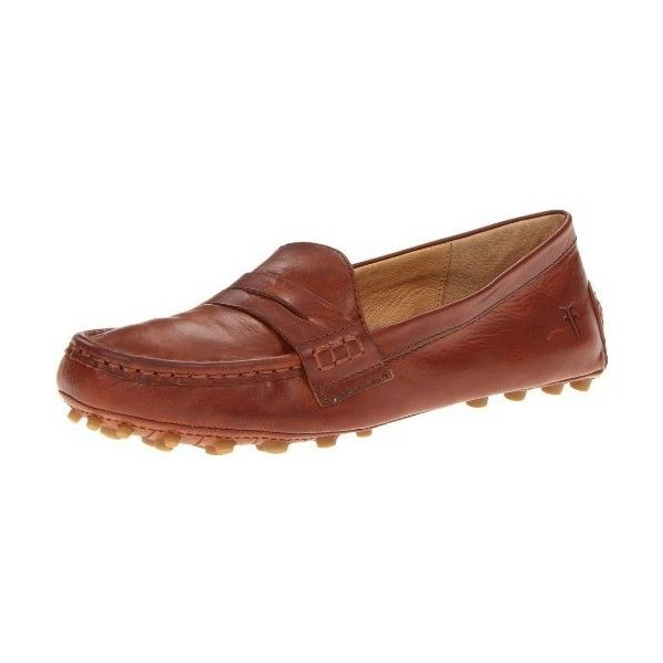 FRYE Women's Rebecca Penny Loafer ($158) ❤ liked on Polyvore