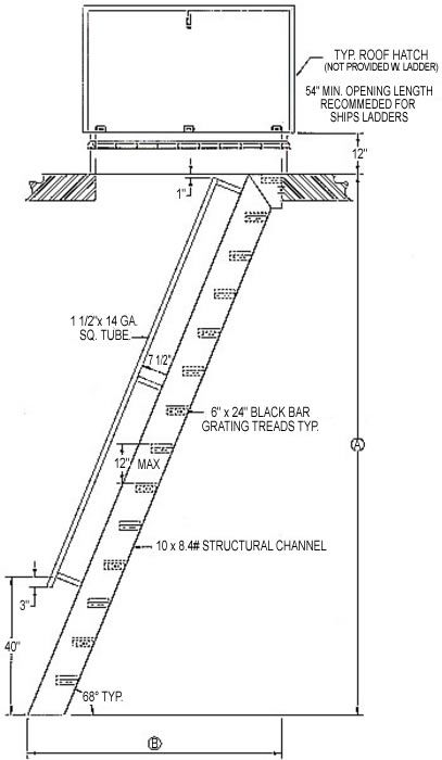 Hatch Access Ships Ladder Ship Ladder Ladder Stairways