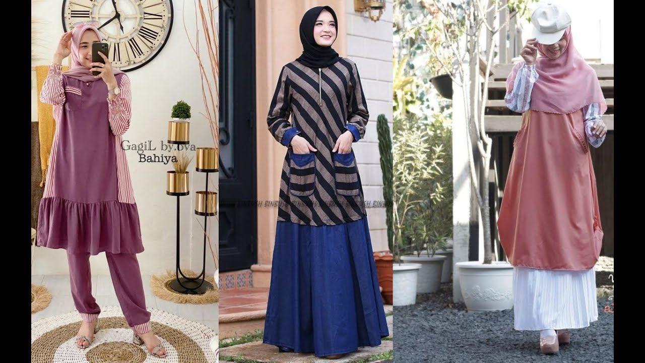 Hijab Fashion Style 2020/2021 | Model baju wanita, Wanita ...