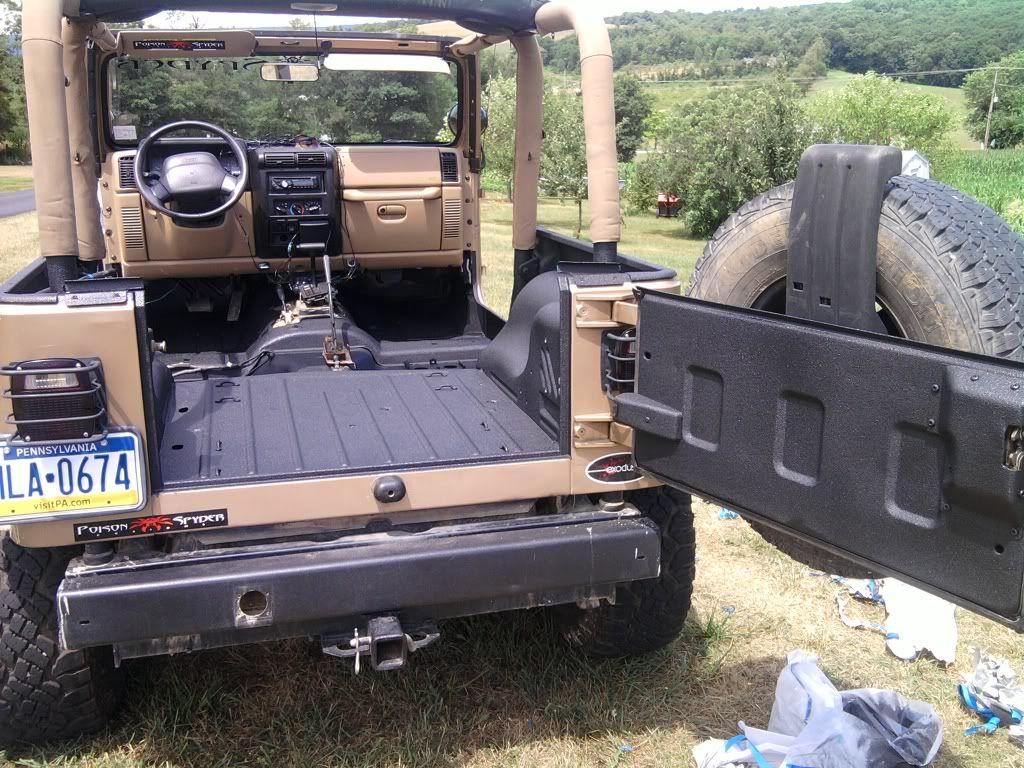 GS goes black Upol Raptor Liner Jeep Wrangler Forum