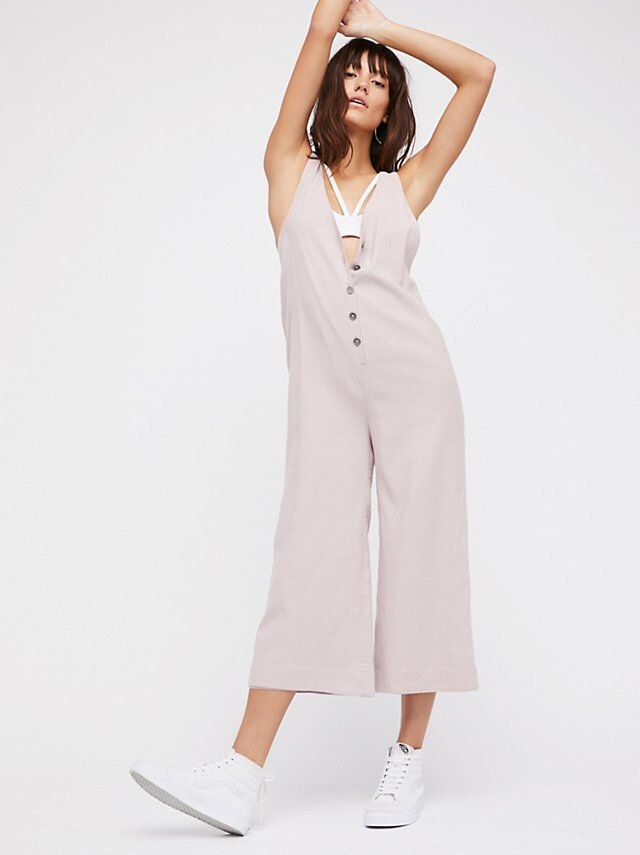 eac20383e031 On The Run Jumpsuit from Free People!