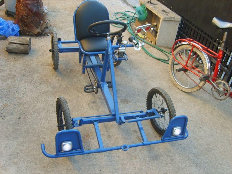 Auto a pedales hecho con material reciclado! - Página 1 ...